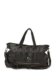 PS TOTALLY ROYAL LEATHER TRAVEL BAG - Black