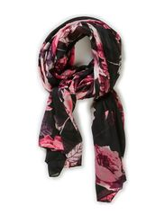 MAKKA LONG TUBE SCARF - Black