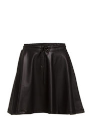 PS NEW SHINY SKIRT EXP - Black