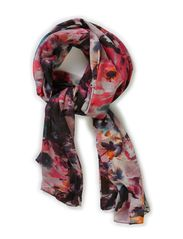 MILKA LONG TUBE SCARF - Hot Pink