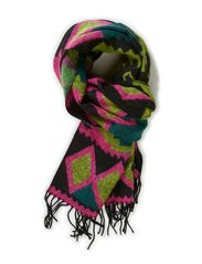 PS CROME SCARF EXP - Black