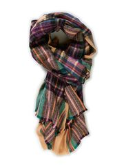 PS COPA LONG SCARF EXP - Mahogany Rose