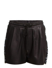 PS NEW SHINY RIBBON SHORTS EXP - Black