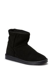 PS UME SUEDE BOOT BLACK - Black