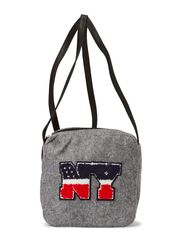 PS CY CROSS OVER BAG - Light Grey Melange