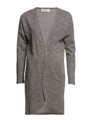 PS CASIM LS LONG CARDIGAN EXP - Light Grey Melange