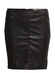PS JUST NEW IMITATED R.M.W SKIRT  EXP/BL - Black