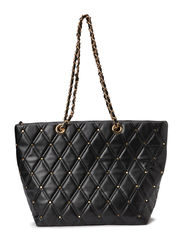 PSHEIKA SHOPPING BAG - Black