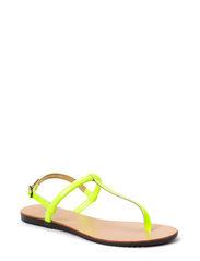PSTAHA  SANDAL NEON YELLOW - Neon Yellow