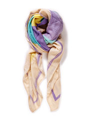 PCSOFIA SQUARE SCARF - Lavender
