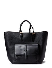 PCJAFAR SHOPPING BAG - Black