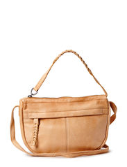 PCJOSSE LEATHER CROSS BODY BAG - Nature