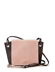 PCJESS LEATHER CROSS BODY BAG - Mahogany Rose