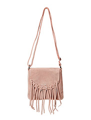 PCJERRI SUEDE CROSS BODY BAG - Mahogany Rose