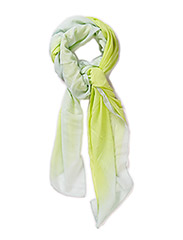 PCJOY LONG SCARF - Sunny Lime