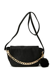 PCPOMPOM CROSS OVER BAG EXP - Black