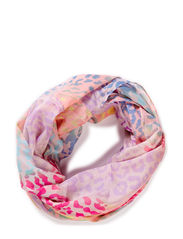 PCJULLE TUBE SCARF - Blue Glow