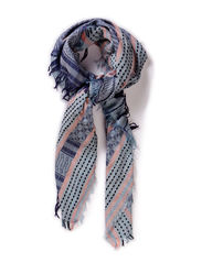 PCJUSEBEA SCARF - Faded Denim
