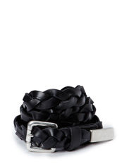 PCJADE LEATHER JEANS BELT - Black