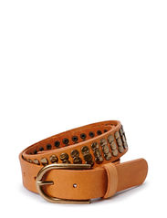 PCJESSIE LEATHER JEANS BELT - Nature