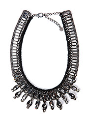 PCJOLI NECKLACE - Gunmetal