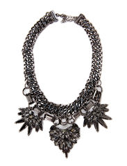 PCJANIKA NECKLACE - Gunmetal