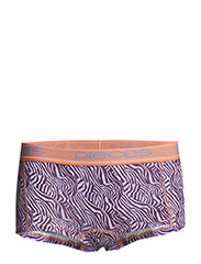 LOGO LADY BOXERS 14-073 ANIMAL - Sunset Purple