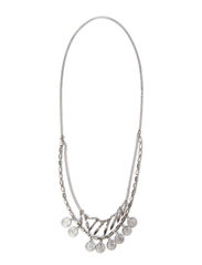 PCJENSA LONG NECKLACE - Silver Colour