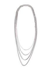 PCJULY NECKLACE - Silver Colour