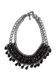 PCJENNY NECKLACE - Gunmetal