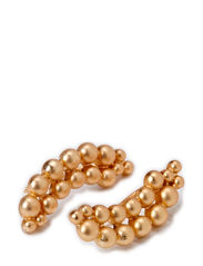 PCJONIA EARSTUDS - Gold Colour