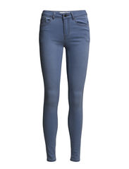 PCJUST JUTE WASHED R.M.W.LEGGING JAMILLA - Light Blue Denim
