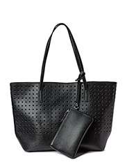 PCNOVAK SHOPPING BAG - Black