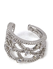 PCDORIS EAR-CUFF EXP - Silver Colour