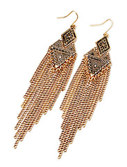 PCNARCISSA EARRINGS - Gold Colour