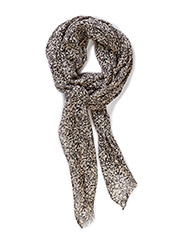 PCNOELLE LONG SCARF - Whitecap Gray