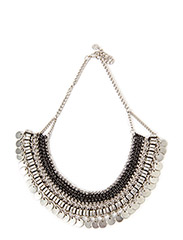 PCNANNE NECKLACE - Silver Colour