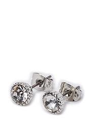 PCNIAMARA EARSTUDS - Silver Colour