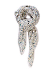 PCNAMA LONG SCARF - Whitecap Gray
