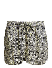 PCTULIP SHORTS EXP/ANIMAL - Black