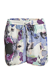 PCTULIP SHORTS EXP/WATER COLOUR - Bright White