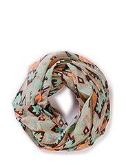 PCNETREA TUBE SCARF - Cabbage