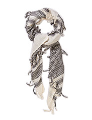 PCNENRIETA SCARF - Whitecap Gray