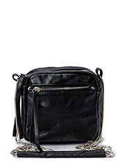 PCASTA CHAIN CROSS OVER BAG EXP - Black