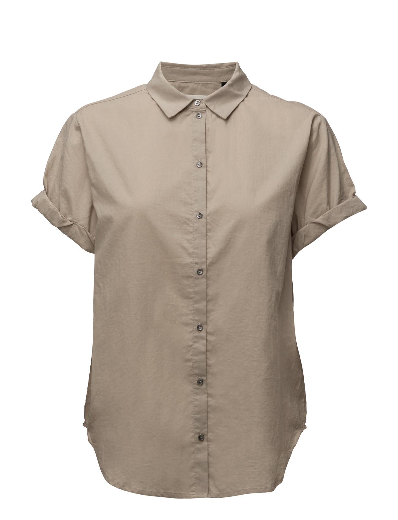 Sandie Ss Shirt Pieszak Trøjer til Kvinder i