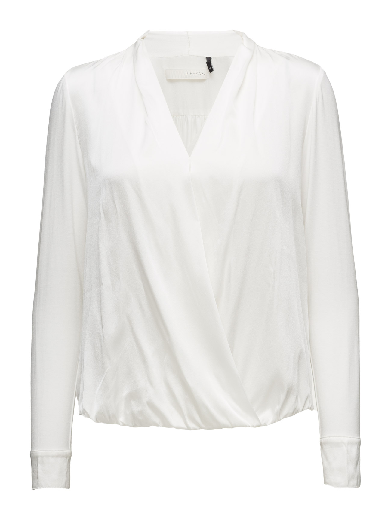 Cille Twist Shirt Pieszak Langærmede til Damer i
