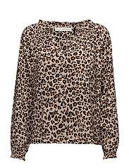 Amira silk blouse - BEIGE