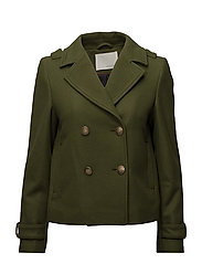 Quinn short coat - ARMY 3