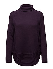New Elyssa rollneck - ACAI PURPLE