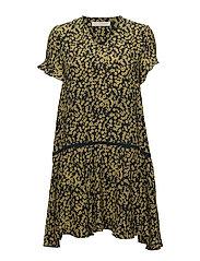 Ammeli Volume dress - SULPHUR